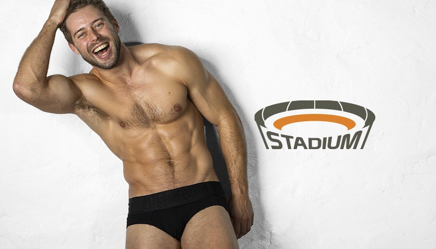 Stadium - Brief - Black