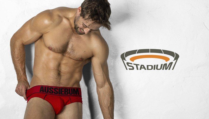 Stadium - Brief - Red-