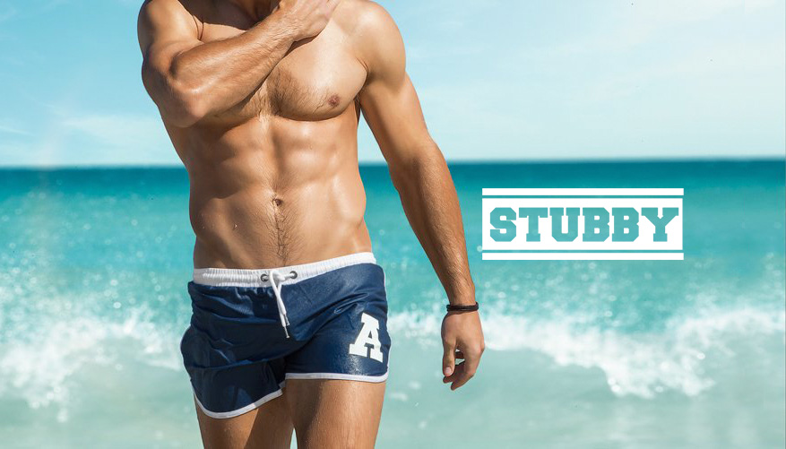 Stubby - Navy/Blue