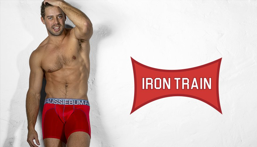 IronTrain - Red - Hipster