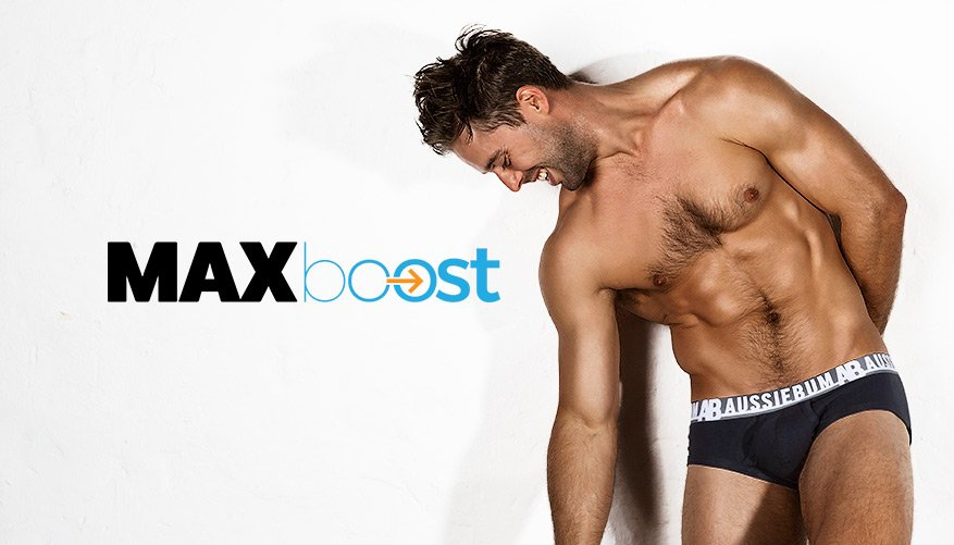 MaxBoost - Brief - Black