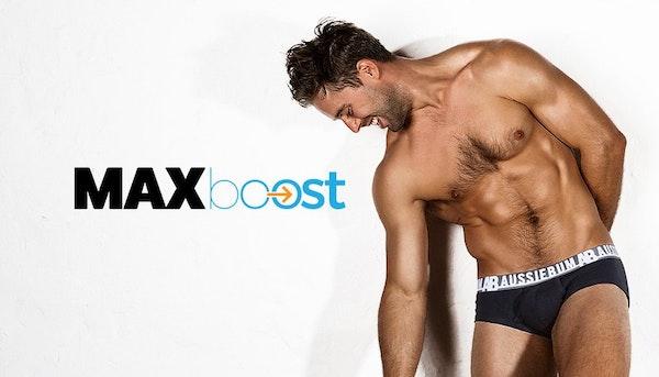 MAX Boost Black Lifestyle Image