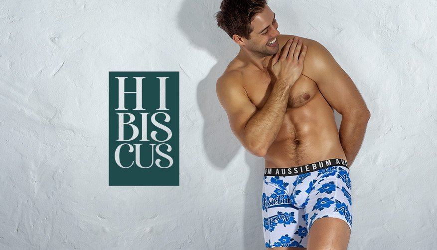 Hibiscus - Hipster - Blue