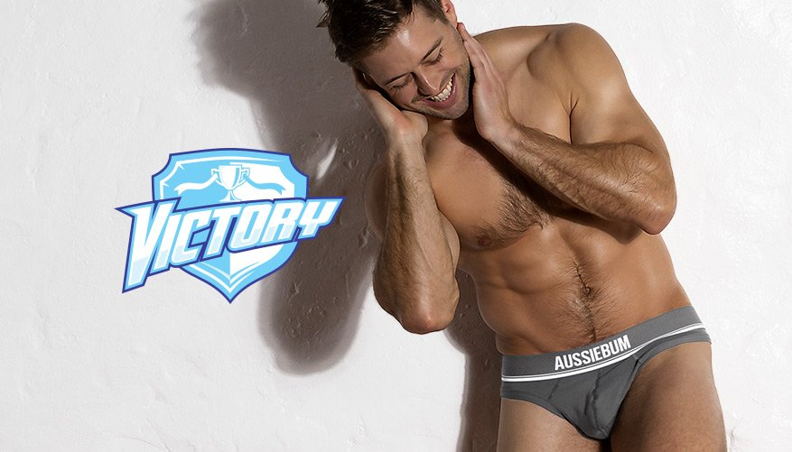 Victory - Thong - Charcoal