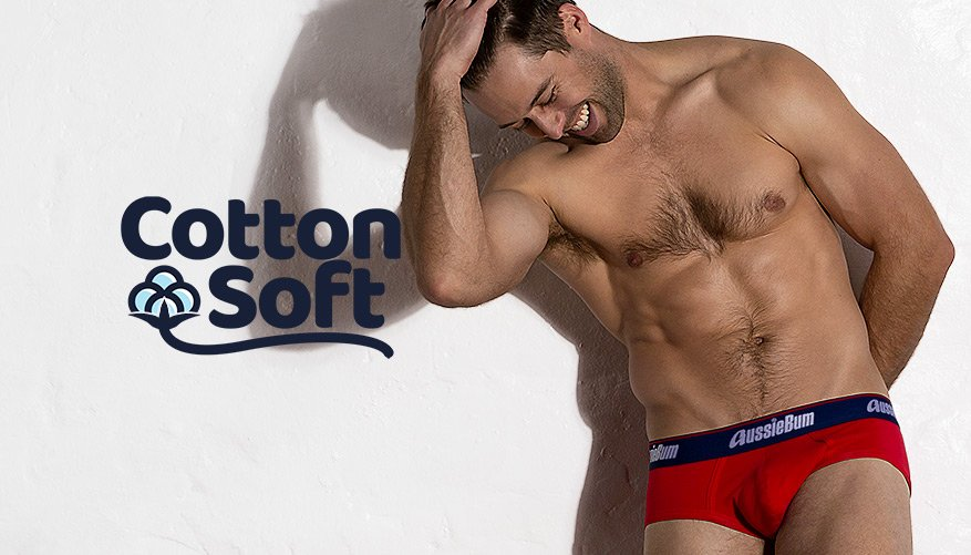 Cotton Soft - Brief - Red