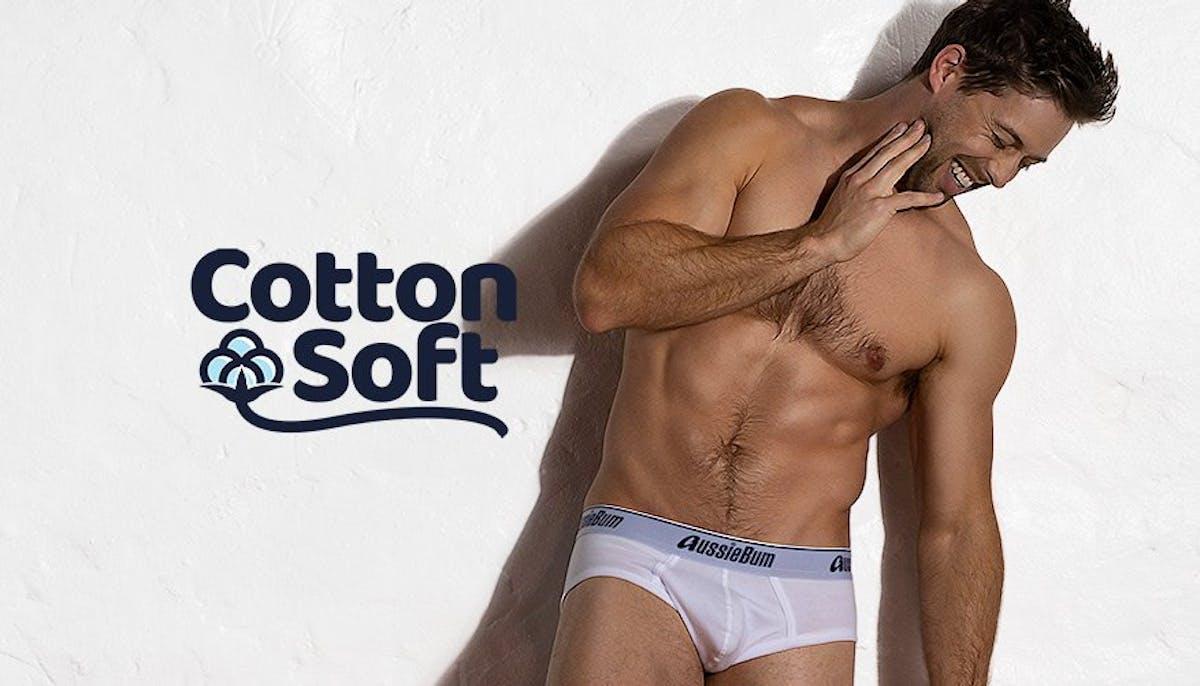 CottonSoft White-Indigo Lifestyle Image