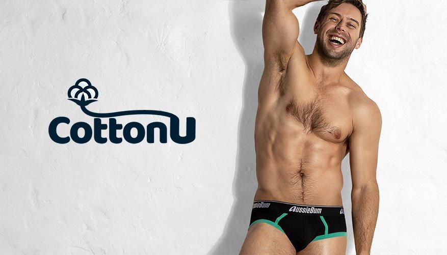 Cotton U - Green Brief