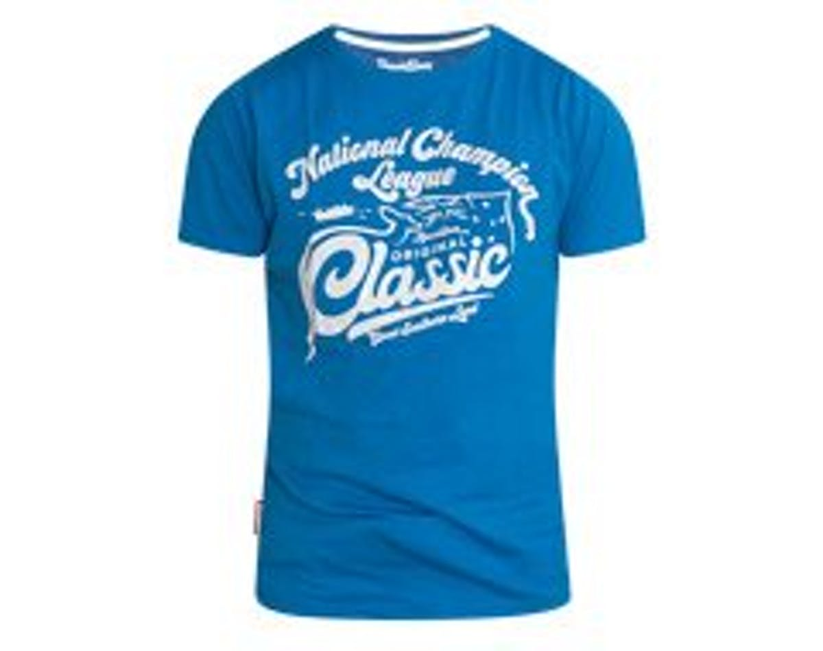 Designer Tee Champion Blue Main Image