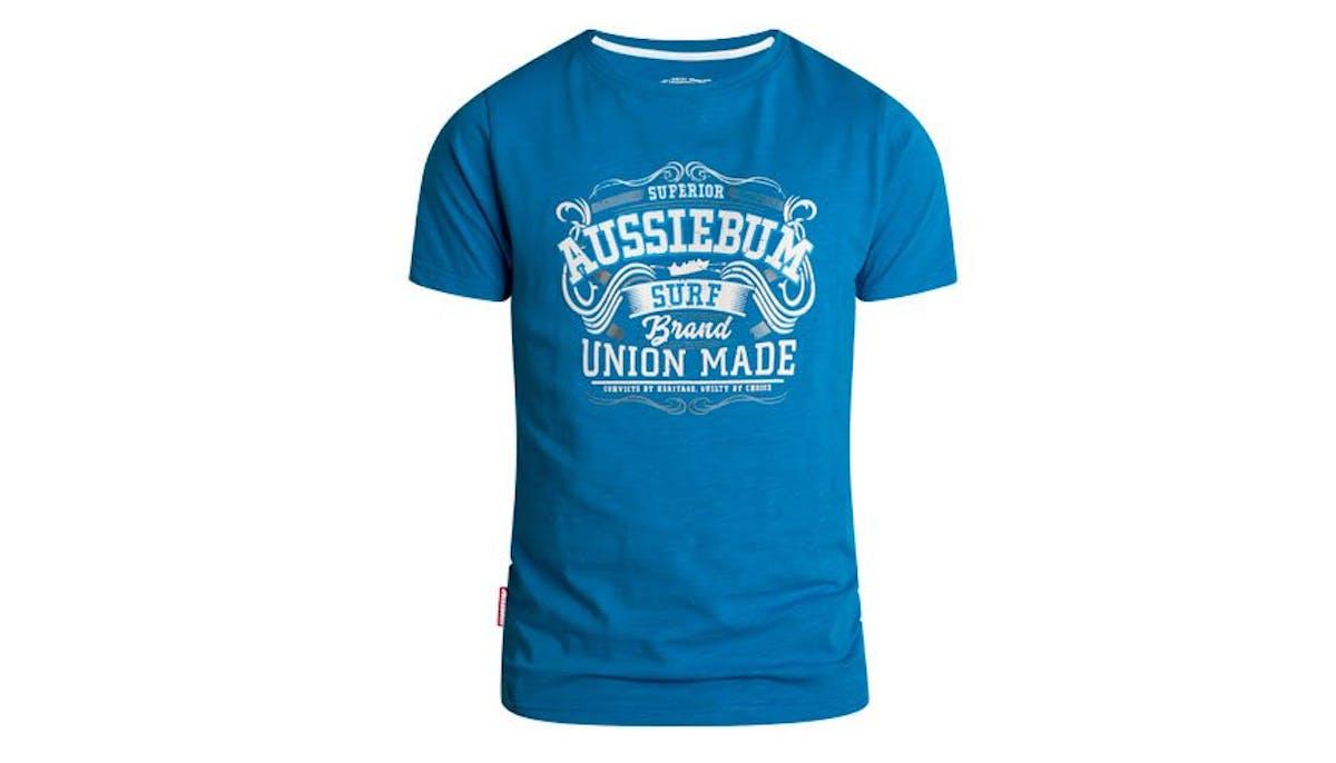 Designer Tee Union Blue Lifestyle Image