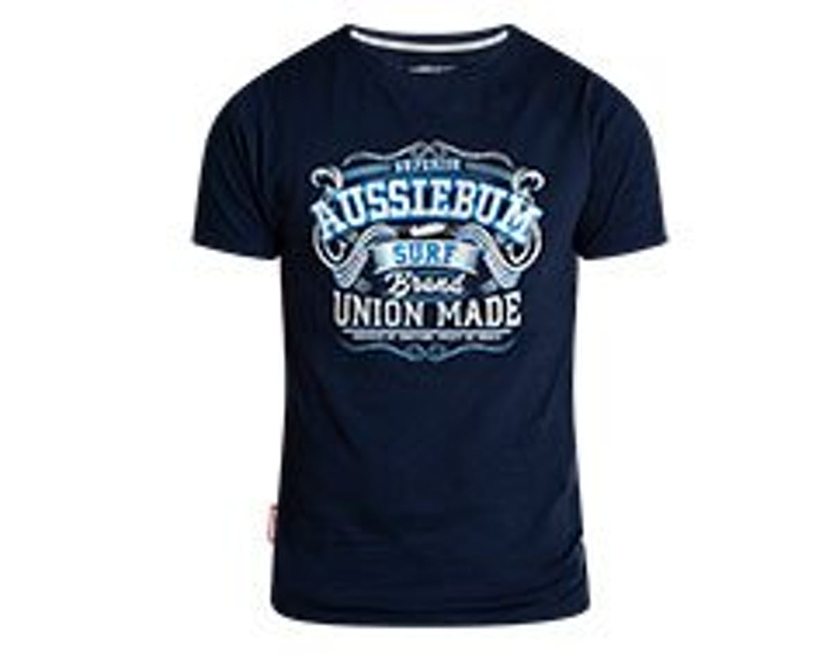 Designer Tee Union Navy Main Image