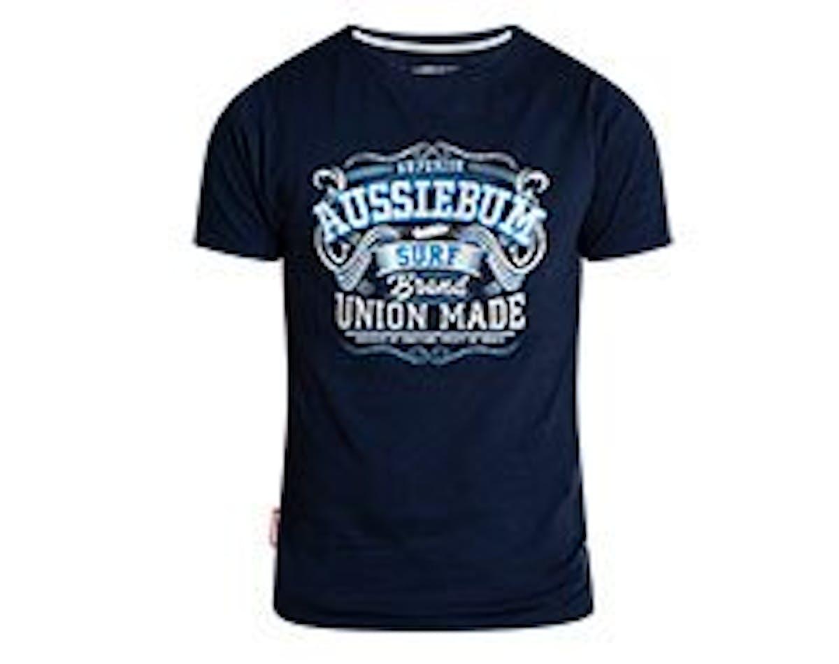 Designer Tee Union Navy Main Image