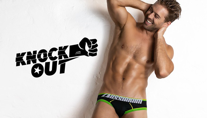 Knock Out - Brief - Green