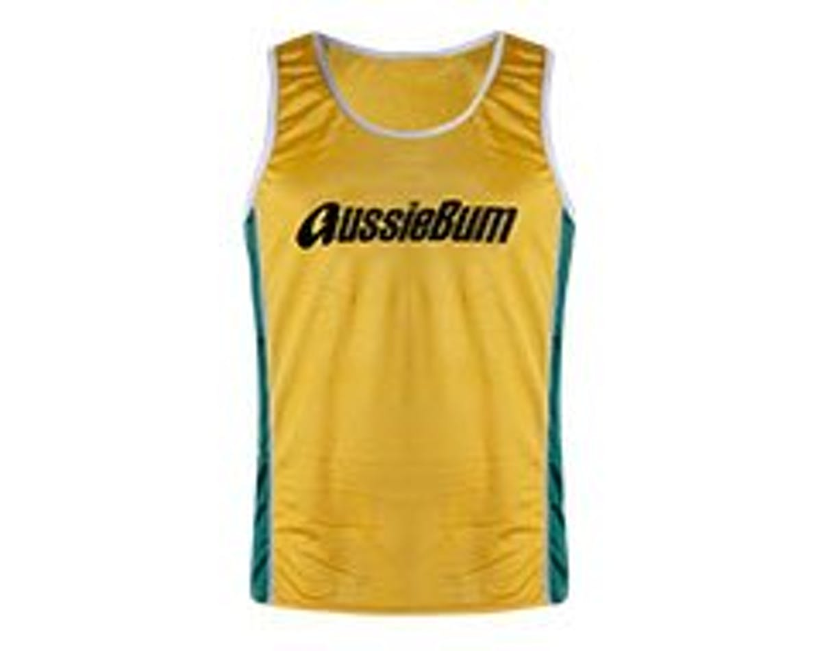Nylon Singlet Gold Main Image