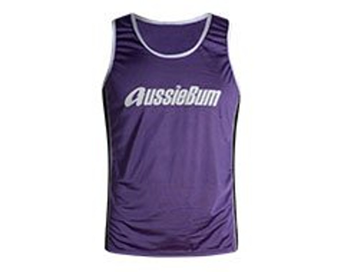 Nylon Singlet Purple Main Image