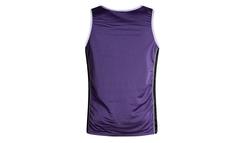 Nylon Singlet Purple Lifestyle Image