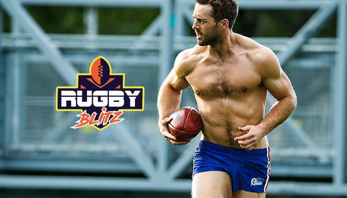Rugby Blitz Blue Lifestyle Image