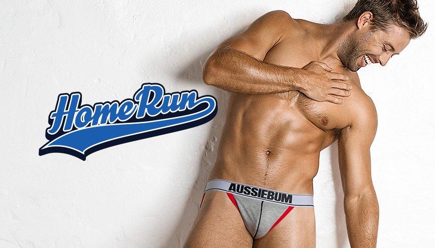 Home Run - Jock - Grey