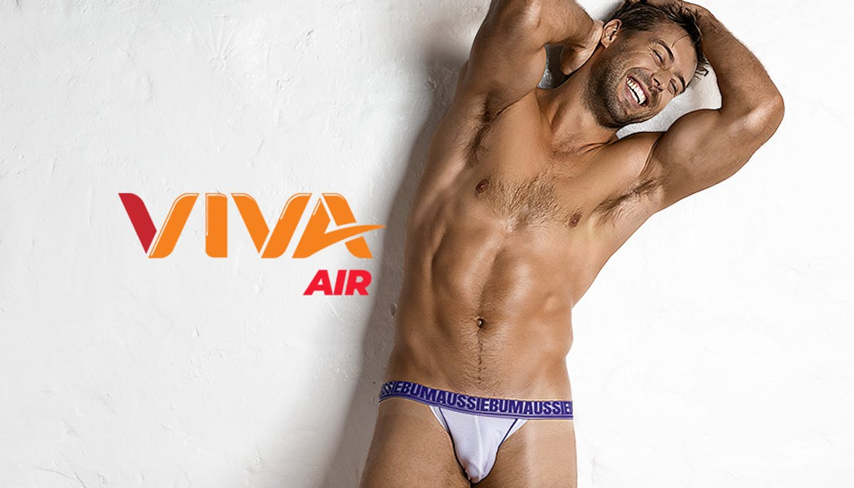 Viva Air Purple White Lifestyle Image