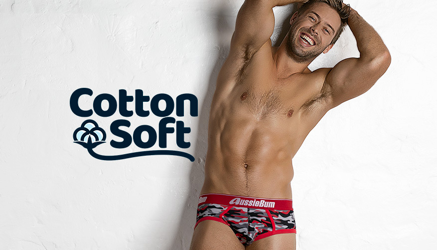 CottonSoft Army - Brief - Red