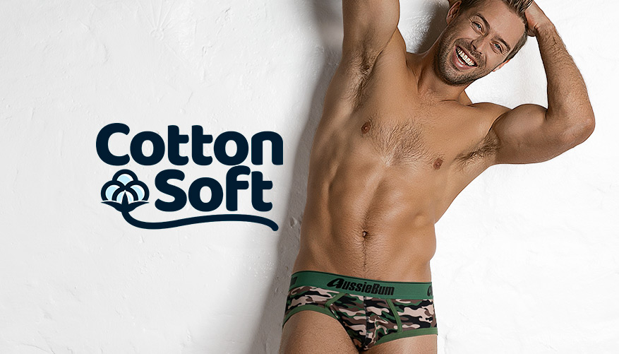 CottonSoft Army - Brief - Green