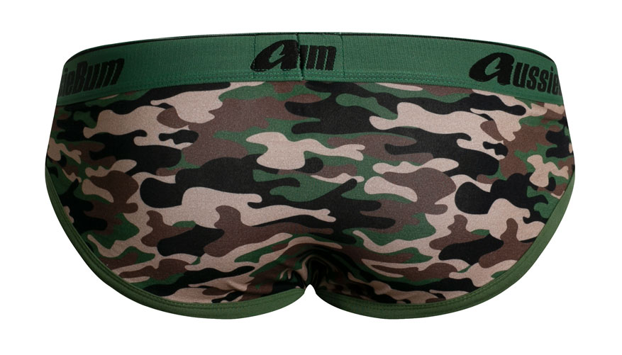 CottonSoft Camo Green Lifestyle Image
