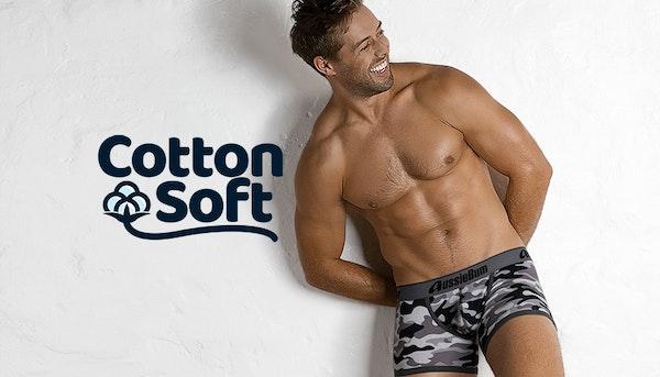 CottonSoft Camo Black Lifestyle Image