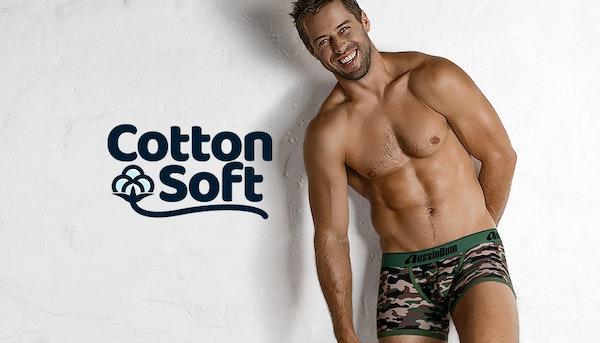 CottonSoft Camo Green Lifestyle Image