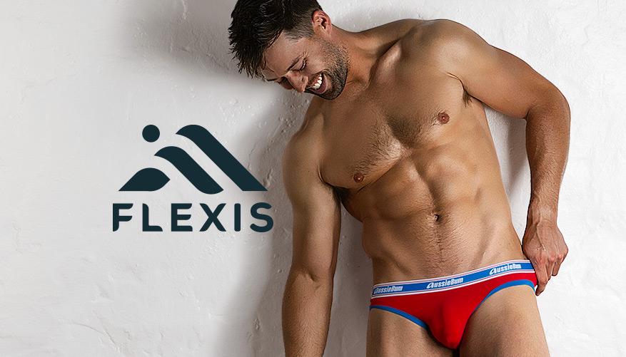 Flexis - Brief - Red
