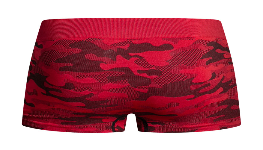 Bodystretch Camo Red Lifestyle Image