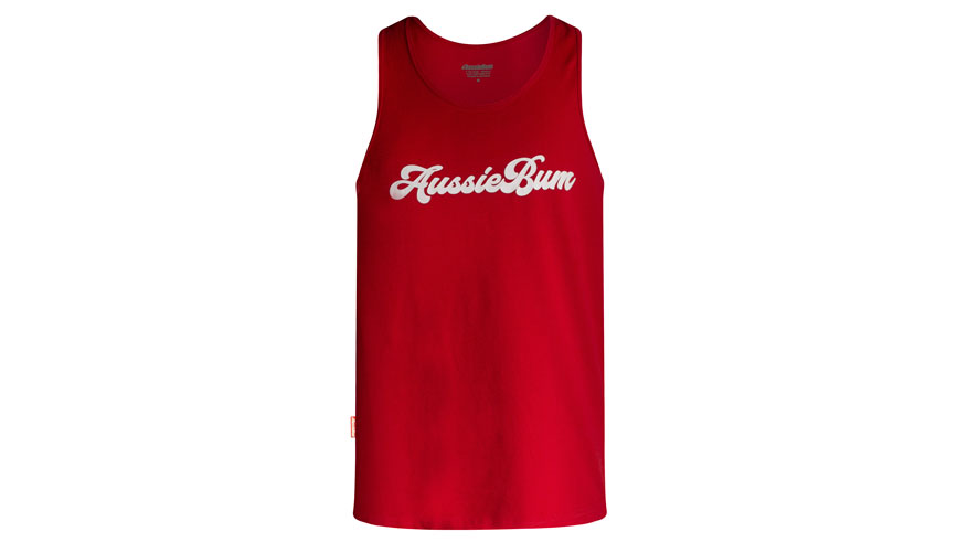 ab Muscle T Red Lifestyle Image