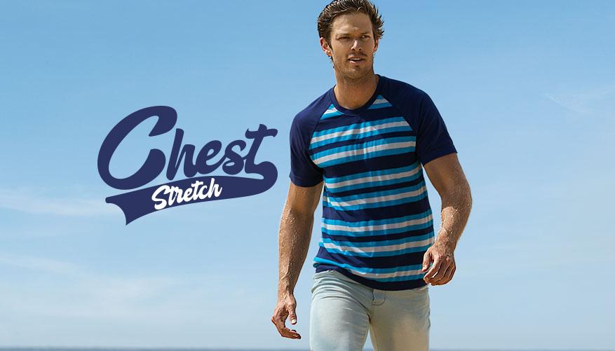 Chest Stretch - Blue