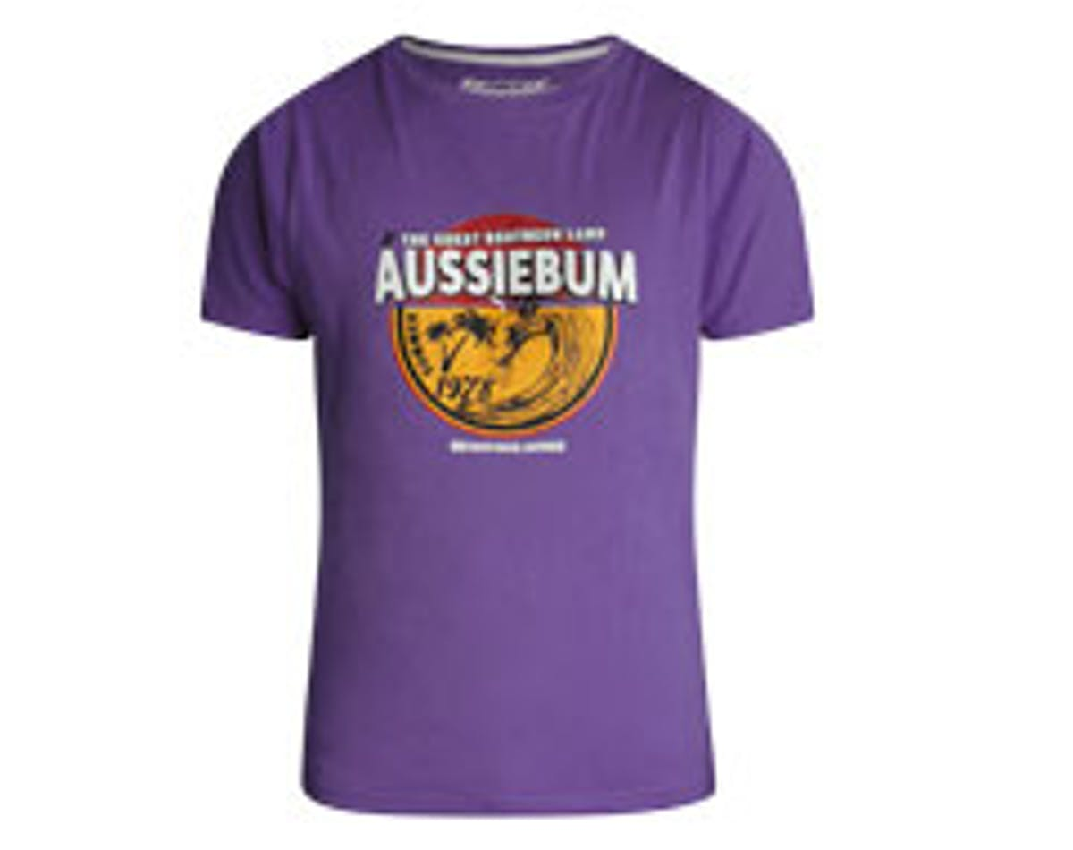 Designer Tee Surfer Purple Main Image