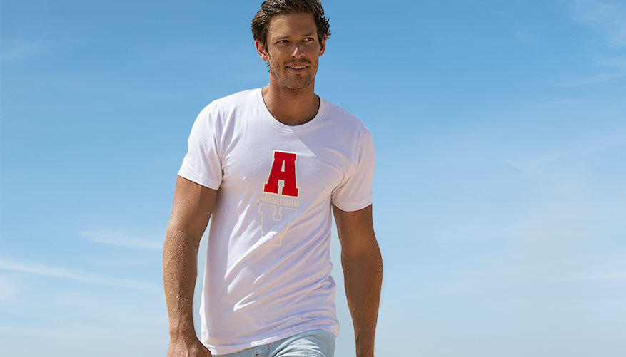 Designer Tee - Arvo White Video Image