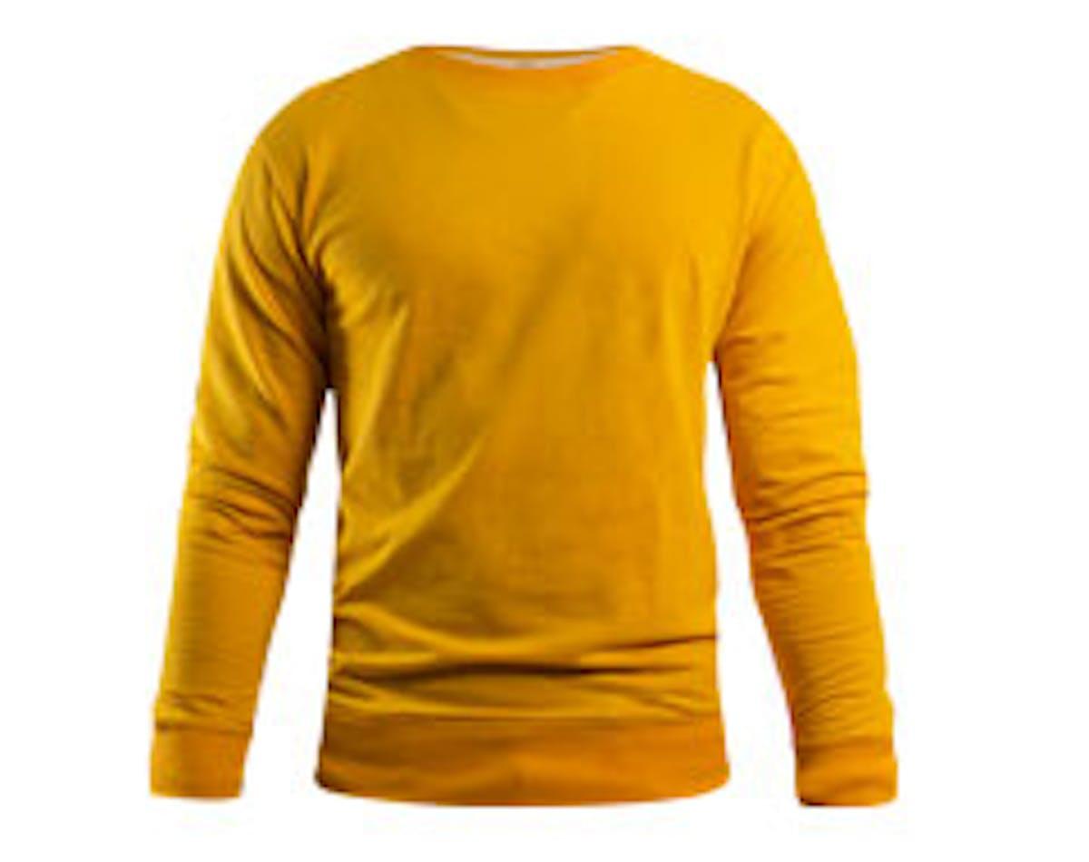 aussieSweater Yellow Main Image