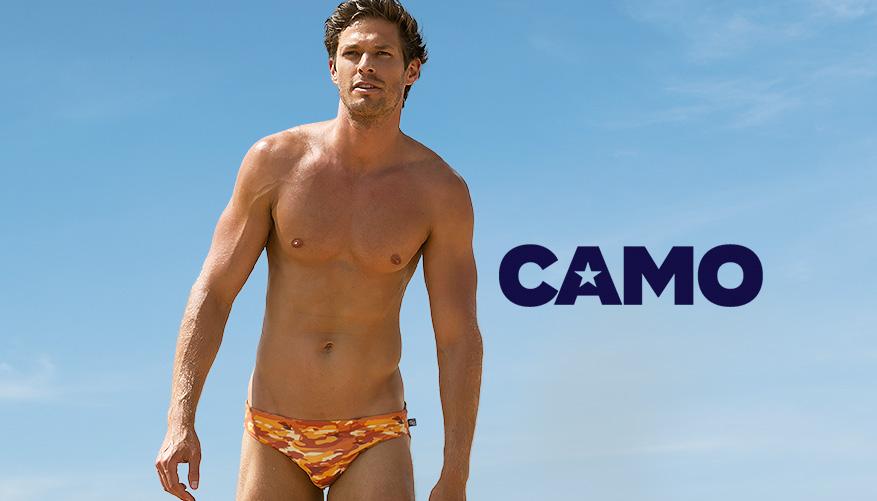 Camo - Orange