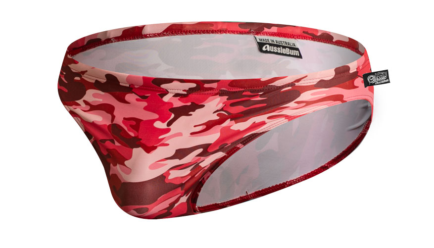Camo Red Lifestyle Image