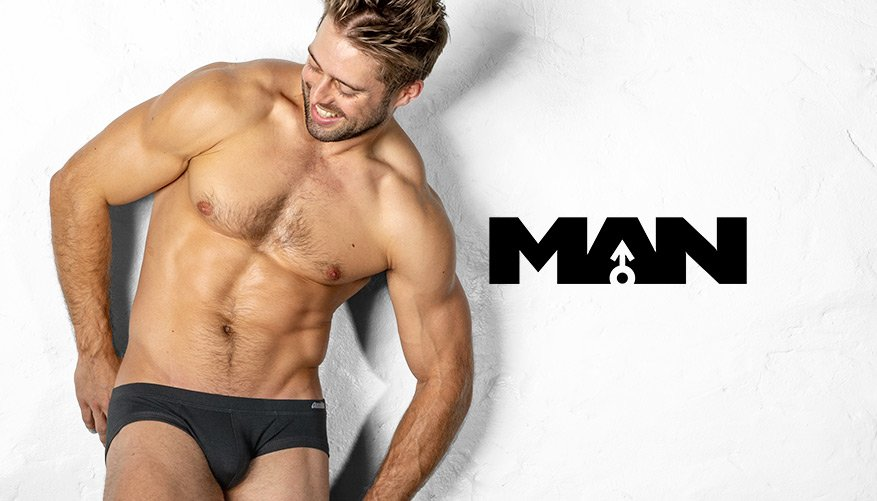 MAN - Brief - Black