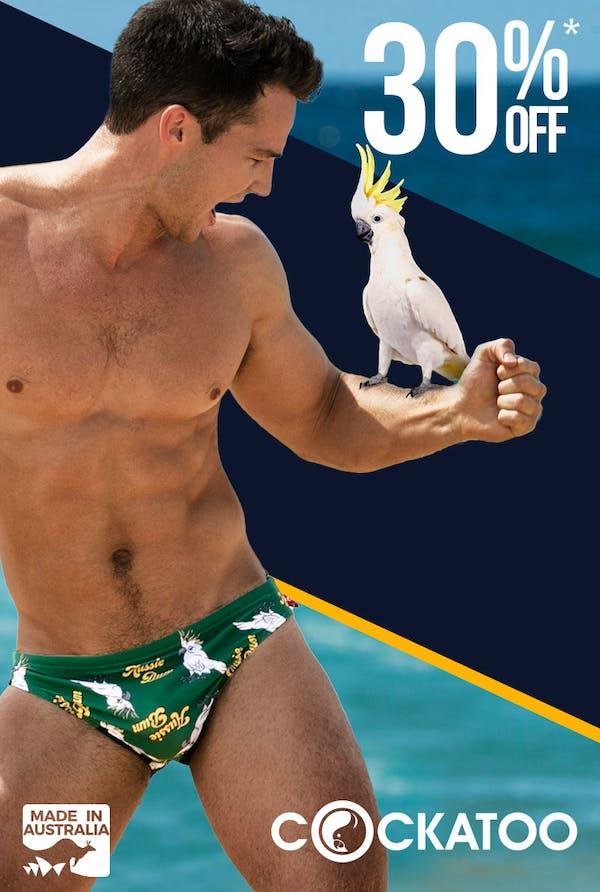 Cockatoo Parrot Homepage Image