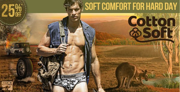 CottonSoft Camo Blue Homepage Image
